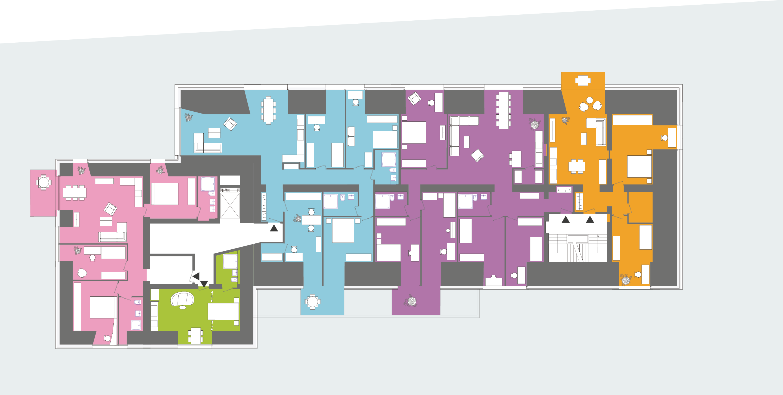 Plan Wohnungen